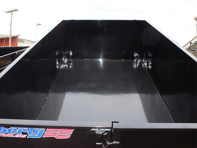 6498.G. 2021 LIBERTY 7 ft. x 14 ft. x 44 in. tall sided dump trailer from Town and Country Truck and Trailer Sales, Kent (Seattle), WA.