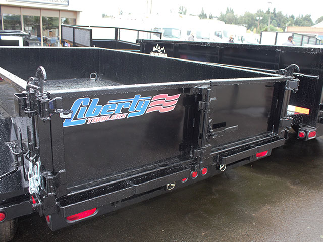 6499.H. 2021 LIBERTY 6 ft. x 10 ft. dump trailer from Town and Country Truck and Trailer Sales, Kent (Seattle), WA.
