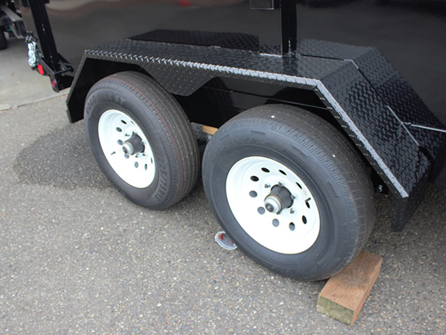 6502.I. 2021 LIBERTY 6t. x 12 ft. dump trailer from Town and Country Truck and Trailer Sales, Kent (Seattle), WA.