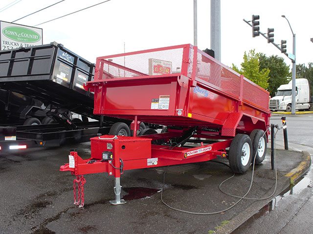 2021 LIBERTY 6 ft. x 12 ft. dump trailer from Town and Country Truck and Trailer Sales, Kent (Seattle), WA.