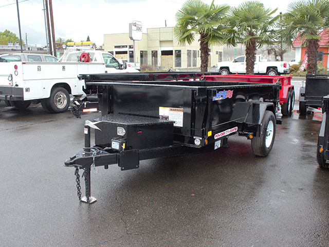 2021 LIBERTY 5 ft. x 10 ft. dump trailer from Town and Country Truck and Trailer Sales, Kent (Seattle), WA.