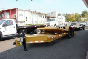 2021 MIDSOTA TILTBED EQUIPMENT TRAILER from Town and Country Truck and Trailer Sales, Kent (Seattle), WA.
