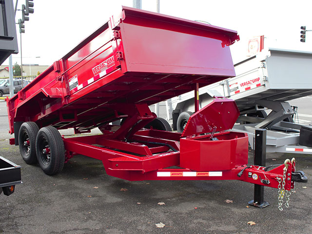 2021 Midsota Versadump HV-14, 14 ft. x 7 ft. dump trailer from Town and Country Truck and Trailer Sales, Kent (Seattle), WA.