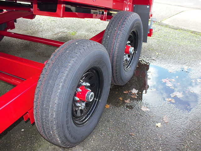 6517.K. 2021 Midsota Versadump HV-14, 14 ft. x 7 ft. dump trailer from Town and Country Truck and Trailer Sales, Kent (Seattle), WA.