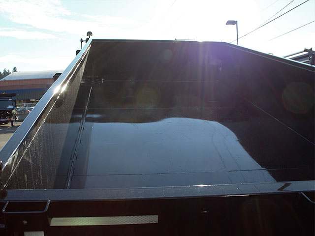 6530.I. 2021 Snake River, 7 ft. x 14 ft. x 26 in. dump trailer from Town and Country Truck and Trailer Sales, Kent (Seattle), WA.