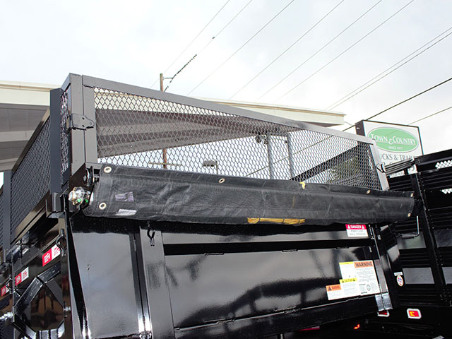 6539.C. 2021 Liberty 83 in. x 14 ft. dump trailer from Town and Country Truck and Trailer Sales, Kent (Seattle), WA.