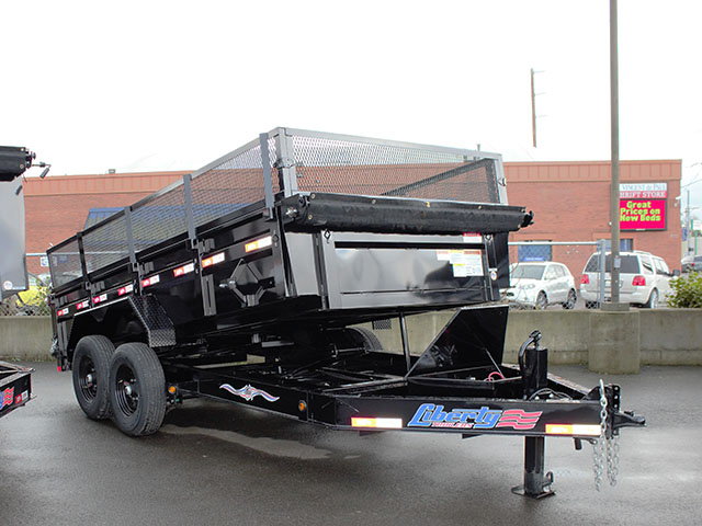 2021 Liberty 83 in. x 14 ft. dump trailer from Town and Country Truck and Trailer Sales, Kent (Seattle), WA.