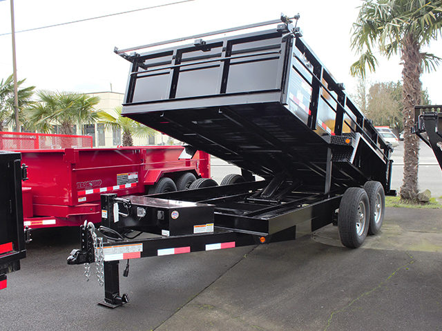2021 Snake River 7 ft. x 16 ft. x 26 inch dump trailer from Town and Country Truck and Trailer Sales, Kent (Seattle), WA.