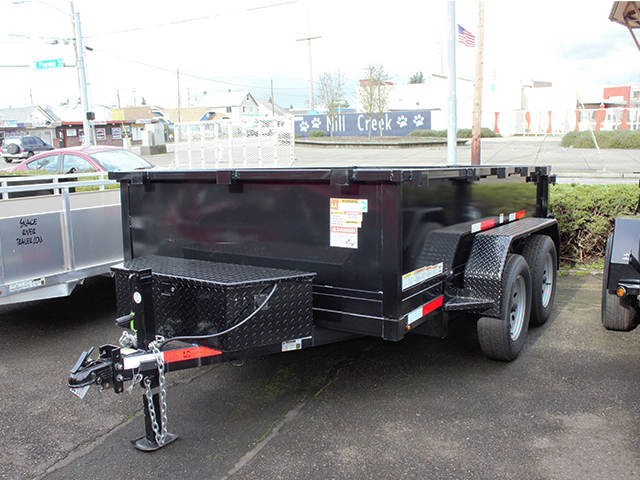 2021 Texas Pride 6 ft. x 10 ft. dump trailer from Town and Country Truck and Trailer Sales, Kent (Seattle), WA.