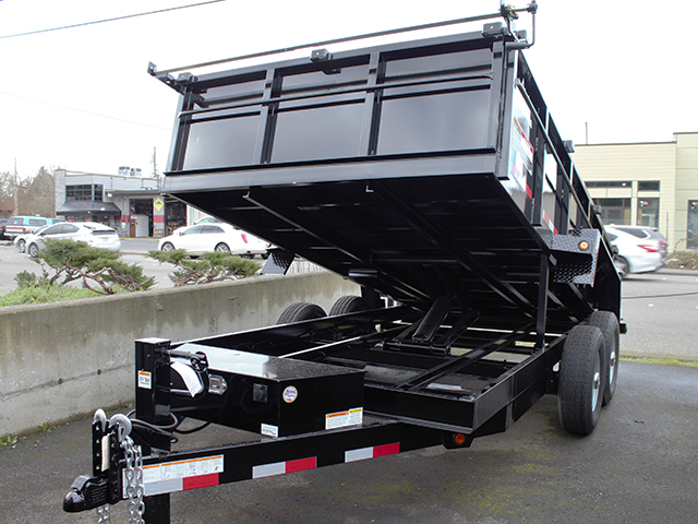 2021 Snake River 7 ft. x 14 ft. x 26 inch dump trailer from Town and Country Truck and Trailer Sales, Kent (Seattle), WA.