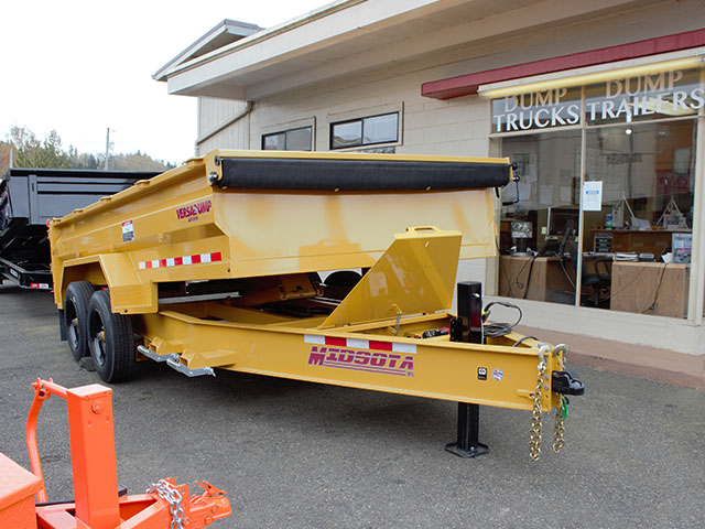 6550.B. 2021 Versadump HVHD 14 ft. Dump Trailer from Town and Country Truck and Trailer Sales, Kent (Seattle), WA.