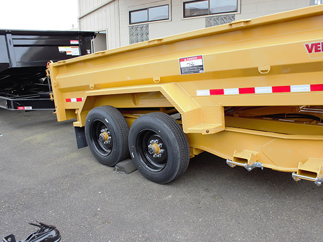 6550.L. 2021 Versadump HVHD 14 ft. Dump Trailer from Town and Country Truck and Trailer Sales, Kent (Seattle), WA.