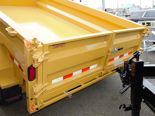 6550.M. 2021 Versadump HVHD 14 ft. Dump Trailer from Town and Country Truck and Trailer Sales, Kent (Seattle), WA.