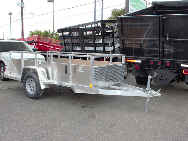 2021 Snake River 5 ft. x 10 ft. aluminum utility trailer from Town and Country Truck and Trailer Sales, Kent (Seattle), WA.