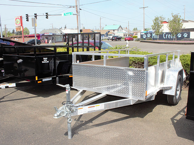 2021 Snake River 5 ft. x 8 ft. aluminum utility trailer from Town and Country Truck and Trailer Sales, Kent (Seattle), WA.