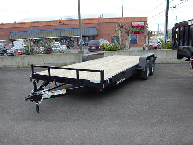 2021 Snake River CT 20 ft. flatbed trailer from Town and Country Truck and Trailer Sales, Kent (Seattle), WA.