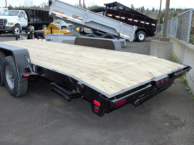 6587.H. 2021 Snake River CT 20 ft. flatbed trailer from Town and Country Truck and Trailer Sales, Kent (Seattle), WA.
