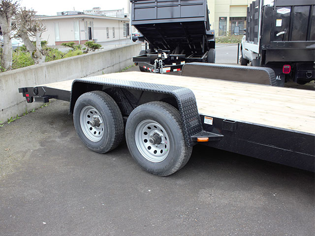 6587.I. 2021 Snake River CT 20 ft. flatbed trailer from Town and Country Truck and Trailer Sales, Kent (Seattle), WA.