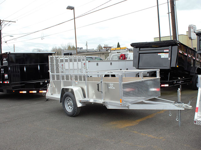 2021 Snake River 5 ft. x 10 ft. aluminum EZ utility trailer from Town and Country Truck and Trailer Sales, Kent (Seattle), WA.