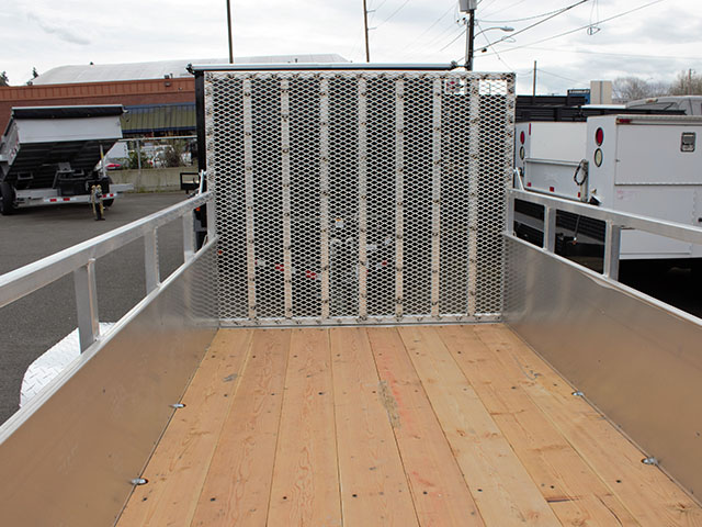 6588.D. 2021 Snake River 5 ft. x 10 ft. aluminum EZ utility trailer from Town and Country Truck and Trailer Sales, Kent (Seattle), WA.