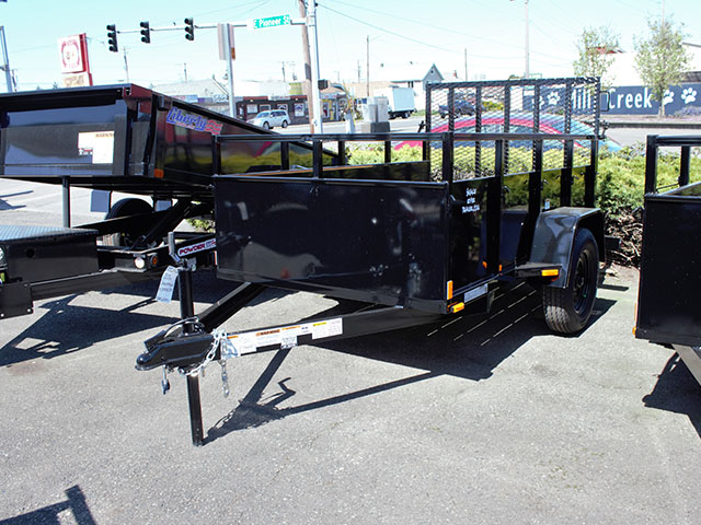 2021 SNAKE RIVER 5 ft. x 8 ft. Steel Utility Trailer
