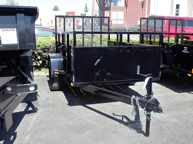6590.B. 2021 Snake River 5 ft. x 8 ft. steel utility trailer from Town and Country Truck and Trailer Sales, Kent (Seattle), WA.