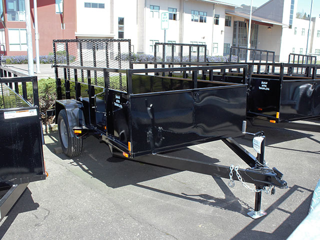 2021 Snake River 5 ft. x 10 ft. steel utility trailer from Town and Country Truck and Trailer Sales, Kent (Seattle), WA.