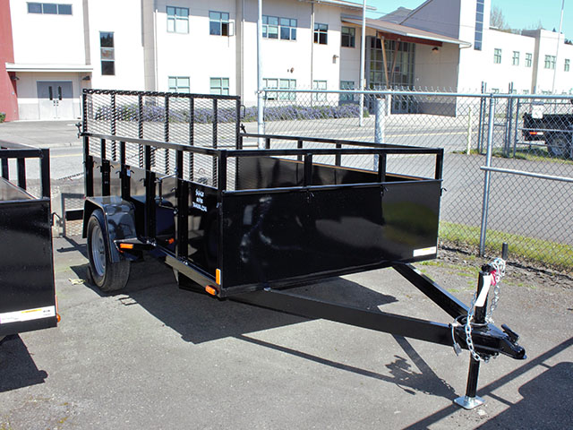 2021 Snake River 6 ft. x 10 ft. steel utility trailer from Town and Country Truck and Trailer Sales, Kent (Seattle), WA.