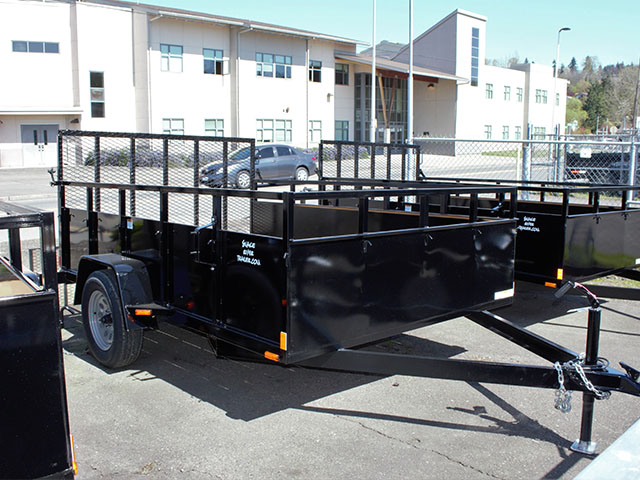 2021 Snake River 7 ft. x 10 ft. steel utility trailer from Town and Country Truck and Trailer Sales, Kent (Seattle), WA.