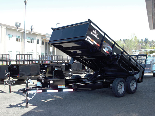 2021 Snake River 6 ft. x 12 ft. double axel dutility trailer from Town and Country Truck and Trailer Sales, Kent (Seattle), WA.
