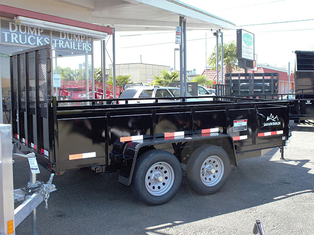 6597.B. 2021 Snake River 6 ft. x 12 ft. double axel dutility trailer from Town and Country Truck and Trailer Sales, Kent (Seattle), WA.