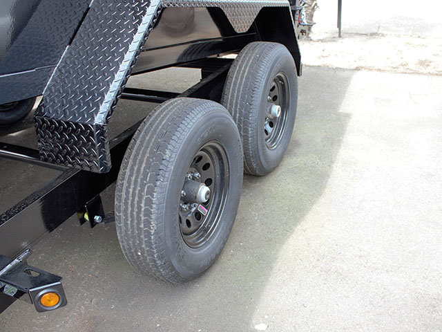 6617.I. 2021 Liberty 6 ft. x 12 ft. dump trailer from Town and Country Truck and Trailer Sales, Kent (Seattle), WA.
