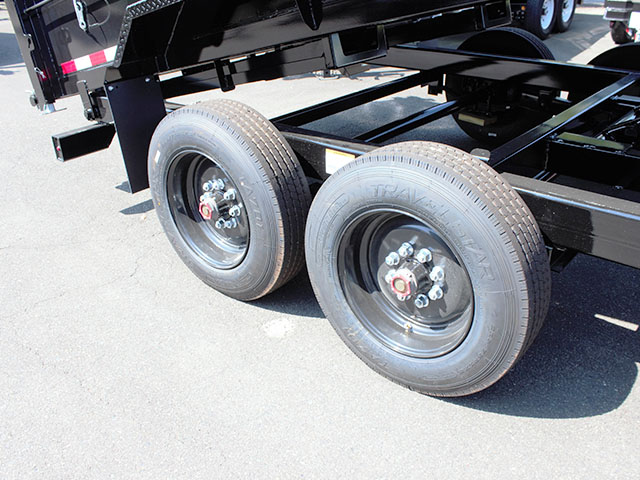 6631.K. 2021 Versadump HV-16 dump trailer from Town and Country Truck and Trailer Sales, Kent (Seattle), WA.