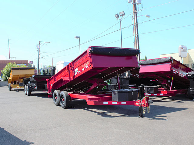 2021 Versadump HV-16 dump trailer from Town and Country Truck and Trailer Sales, Kent (Seattle), WA.