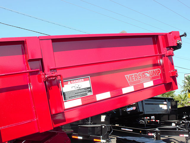 6632.G. 2021 Versadump HV-16 dump trailer from Town and Country Truck and Trailer Sales, Kent (Seattle), WA.
