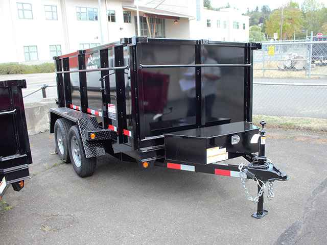 6600.b. 2021 Snake River 5 ft. x 10 ft. dump trailer from Town and Country Truck and Trailer Sales, Kent (Seattle), WA.