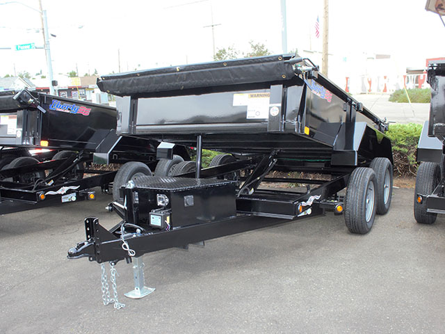 6610.A. 2021 Liberty 6 ft. x 10 ft. dump trailer from Town and Country Truck and Trailer Sales, Kent (Seattle), WA.