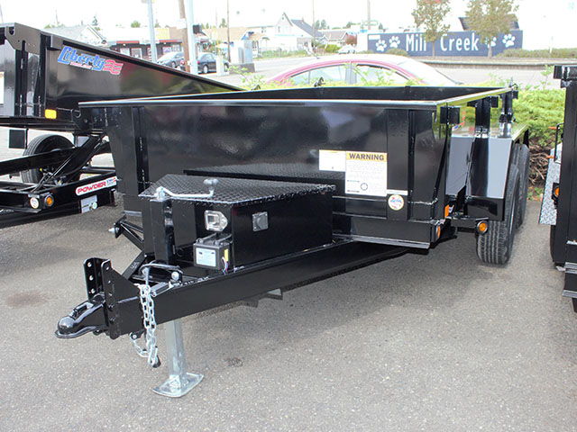 6612.A. 2021 Liberty 6 ft. x 10 ft. dump trailer from Town and Country Truck and Trailer Sales, Kent (Seattle), WA.