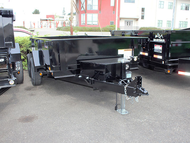 6612.B. 2021 Liberty 6 ft. x 10 ft. dump trailer from Town and Country Truck and Trailer Sales, Kent (Seattle), WA.