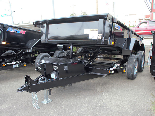 2021 Liberty 6 ft. x 10 ft. dump trailer from Town and Country Truck and Trailer Sales, Kent (Seattle), WA.