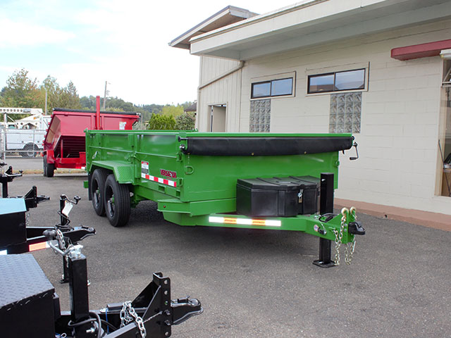2021 Versadump 7 x 14 x4 ft. dump trailer from Town and Country Truck and Trailer Sales, Kent (Seattle), WA.