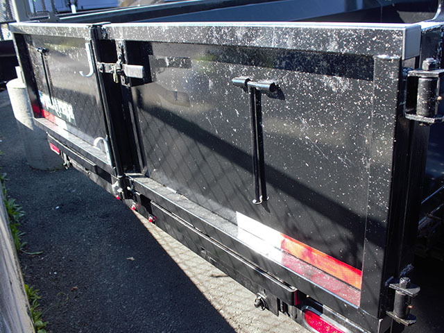 6634.D. 2021 Texas Pride 7 ft. x12 ft. dump trailer from Town and Country Truck and Trailer Sales, Kent (Seattle), WA.