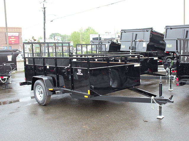 6643.A. 2021 SNAKE RIVER 6x10 Single Axle utility trailer from Town and Country Truck and Trailer Sales, Kent (Seattle), WA.