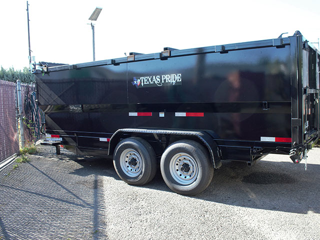 2021 Texas Pride 7 ft. x16 ft. dump trailer from Town and Country Truck and Trailer Sales, Kent (Seattle), WA.