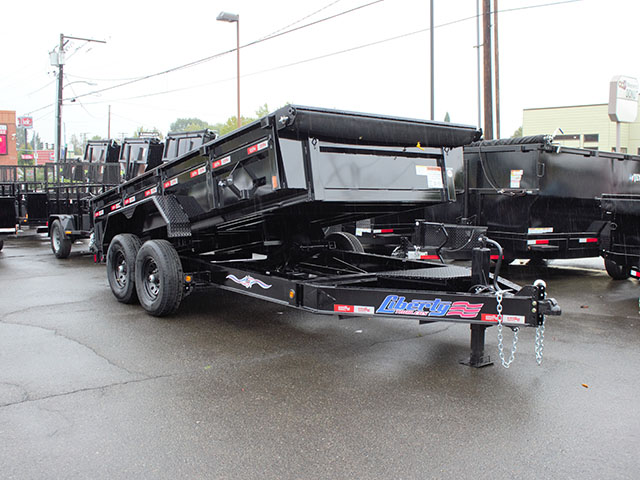 6669.A. 2021 Liberty 7x14 dump trailer from Town and Country Truck and Trailer Sales, Kent (Seattle), WA.