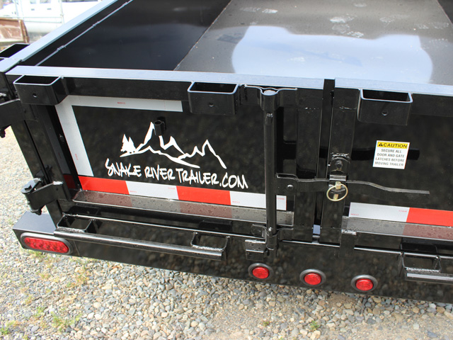 DMP5X10.G. 2016 SNAKE RIVER 5 ft. x 10 ft. Single Axle Dump Trailer from Town and Country Commercial Trailer and Truck Sales, Kent (Seattle), WA