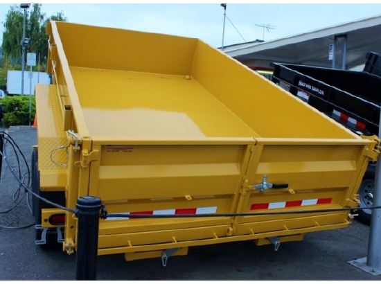 AV12.C. 2015 VERSADUMP 82 in. X 12 ft. Dump Trailer from Town and Country Commercial Trailer and Truck Sales, Kent (Seattle), WA