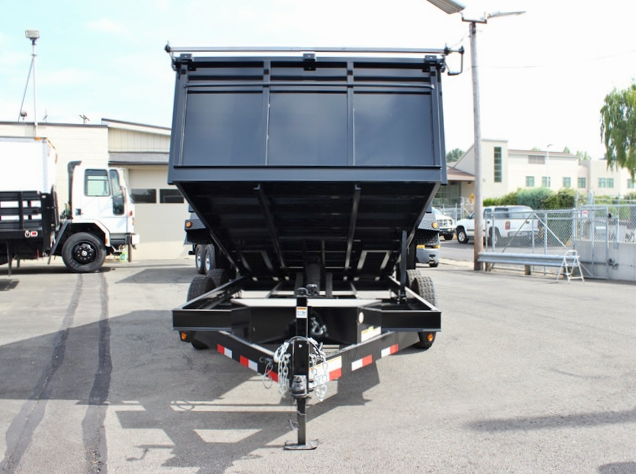 DMP36X14X14K.D. SNAKE RIVER 36 in. Tall Sided Dump Trailer from Town & Country Trailer Sales, Kent (Seattle) WA