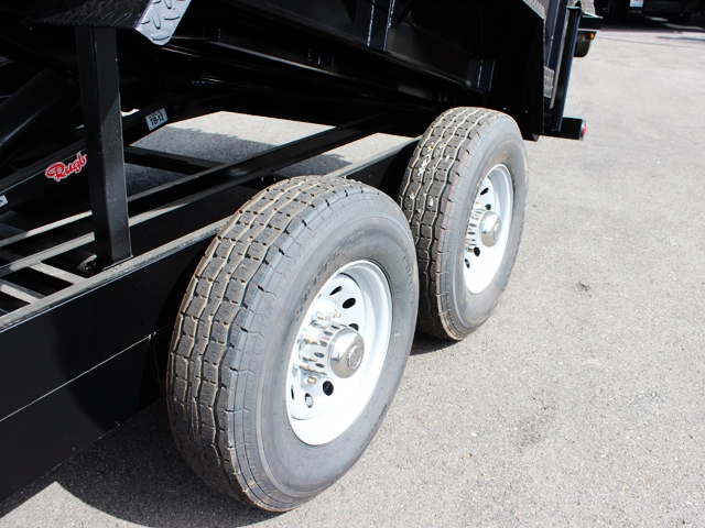 DMP36X14X14K.J. SNAKE RIVER 36 in. Tall Sided Dump Trailer from Town & Country Trailer Sales, Kent (Seattle) WA