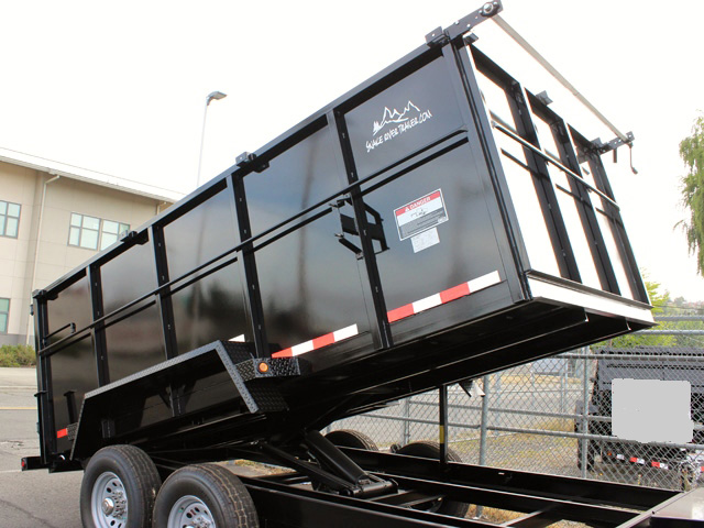 DMP48X14X14K.E. SNAKE RIVER 48 in. Tall Sided Dump Trailer from Town & Country Trailer Sales, Kent (Seattle) WA